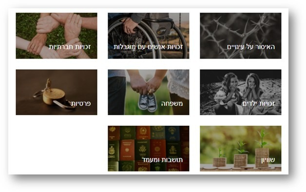 Hebrew Language Database – Human Rights in Israel