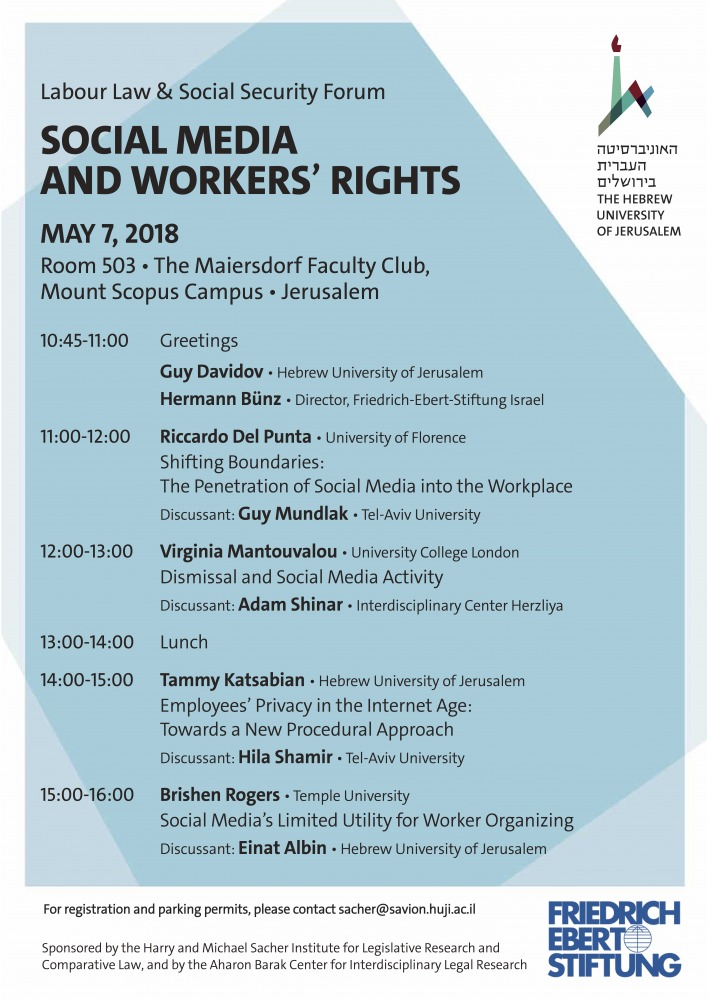 Social Media And Workers' Rights