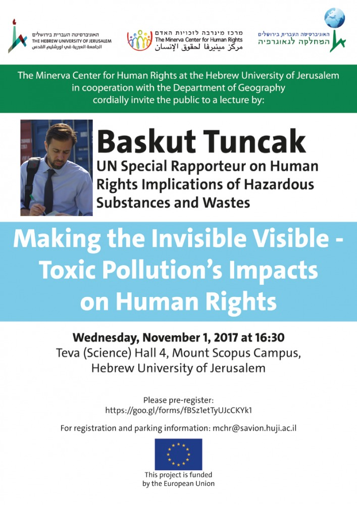 Making the Invisible Visible - Toxic Pollution's Impacts on Human Rights