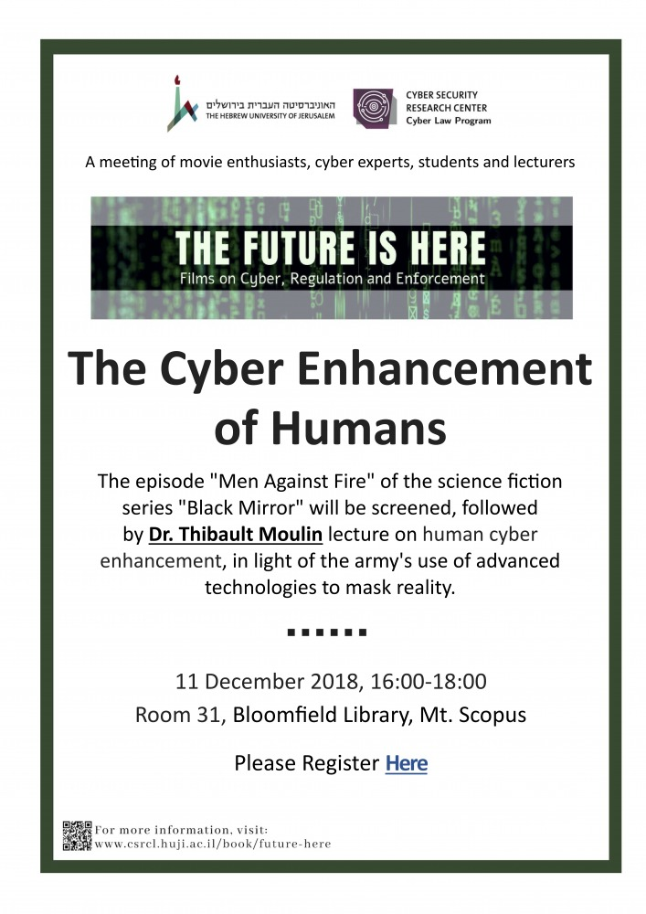 Cyber Enhancement of Humans