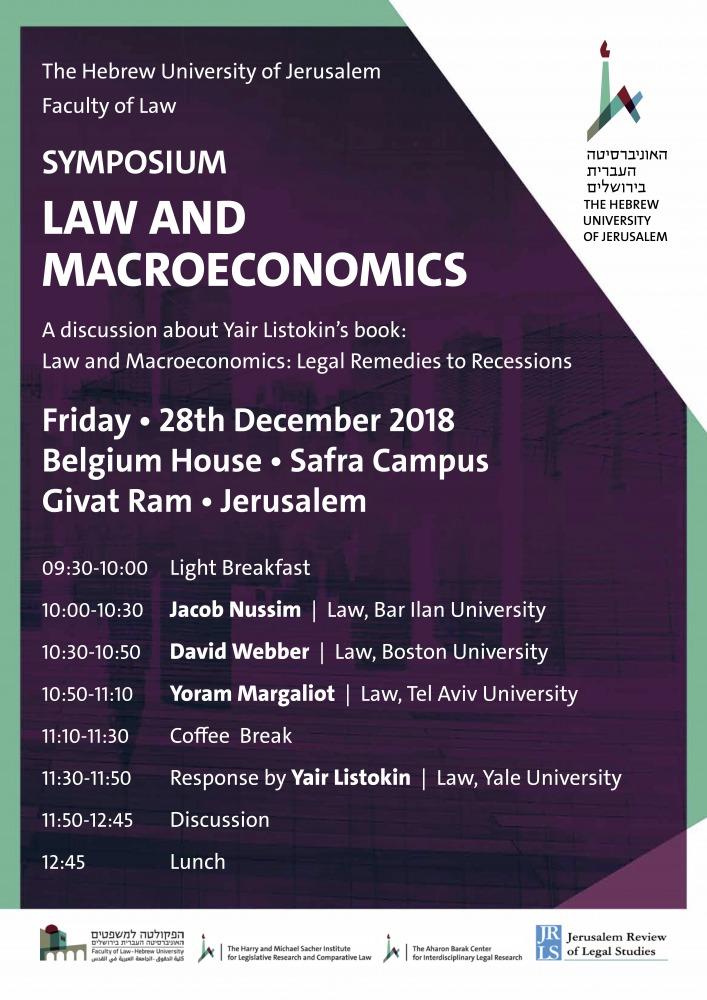 LAW AND MACROECONOMICS